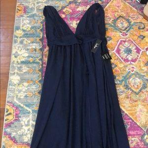 Lulus Heavenly Hues Navy Blue Maxi Dress size xl